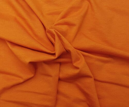 Ginger Cotton Spandex Fabric Jersey Knit By Yard 4 Way Stretch #115 8//16
