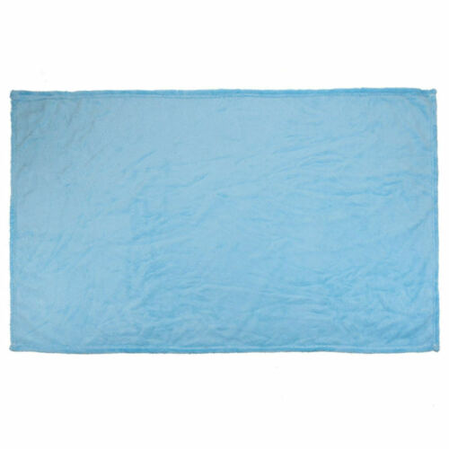 Super Soft Warm Solid Warm Micro Plush Fleece Blanket Throw Rug Sofa Room 70*100