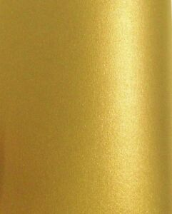 50 a4 gold metallic pearl shimmer paper 100gsm double sided ebay