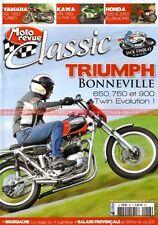 MOTO REVUE CLASSIC 48 TRIUMPH T120 T140 T100 650 750 900 Bonneville YAMAHA XS