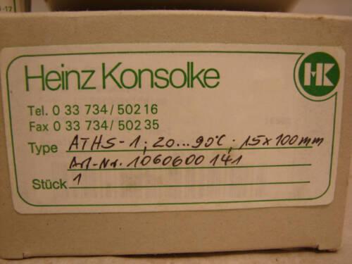 HEINZ KONSOLKE ATHS-1//JUMO ATH-1 TEMP CONTROLLER ***NIB***