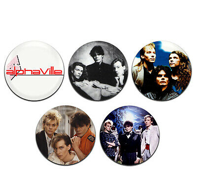 5x Ultravox Pop New Wave Synth Band 25mm 1 Inch D Pin Button Badges
