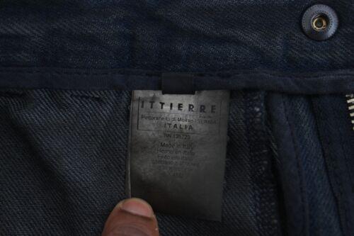 IT48 NEW $340 COSTUME NATIONAL C/'N/'C Blue Cotton Slim Pants Denim Jeans W34