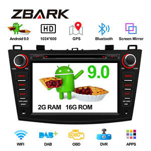 8-034-Android-9-0-Car-DVD-Player-GPS-Sat-Navi-Stereo-Radio-For-Mazda-3-2010-2013
