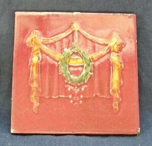 ART-NOUVEAU-6-034-relief-majolica-tile-c1905-THOS-BOOTE