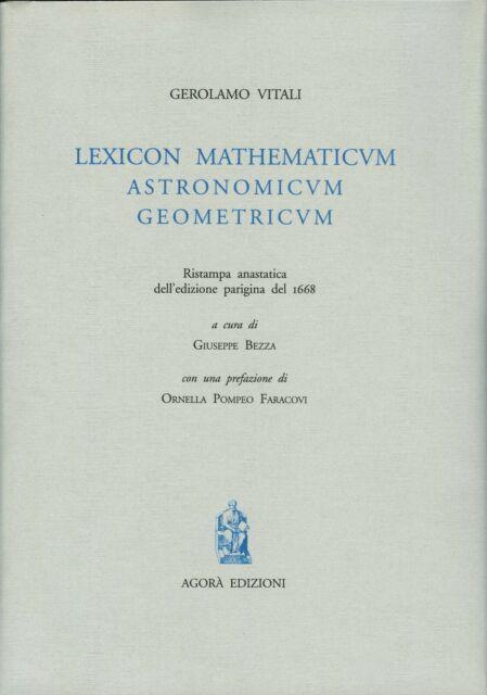 Lexicon mathematicum astronomicum geometricum