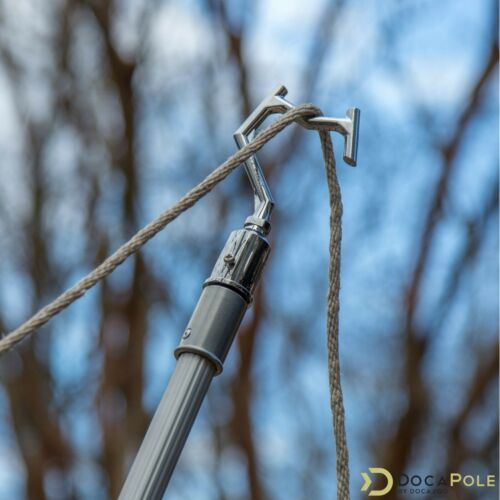 Boat Hook DocaPole 7-30 Foot Pole Hook Extension Pole String Light Hanging