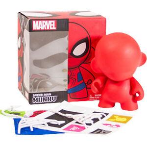 Munnyworld-Spider-Man-Marvel-Munny-DIY-Figure-7-inches-tall-NEW-Kidrobot