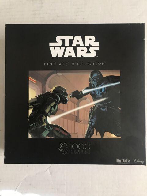 STAR WARS leuchtendes Wandpuzzle GITD Puzzle Deko Yoda Darth Vader Luke Skywalke