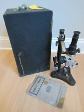 Rare Spencer Refractometer Collectible American Optical Microscope No 740 Case