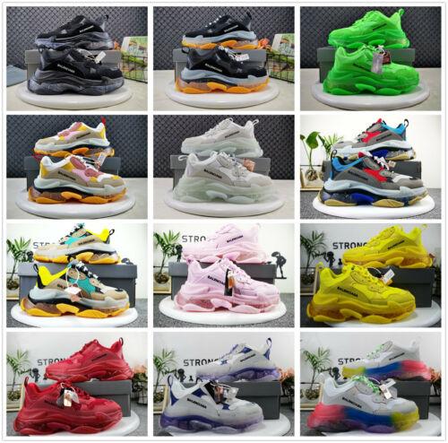 Herren Damen Turnschuhe Laufschuhe Sportschuhe Balenciaga³ Triple S Sneaker