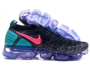 check out 48940 51ad1 Details about NIKE AIR VAPORMAX FLYKNIT 2 BLACK/HOT PUNCH-WHITE SIZE MEN'S  11.5 [942842-003]