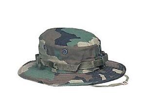 KöStlich Us Army Woodland Camouflage Bdu Uniform Military Boonie Mütze Cap Xlarge Kopfbekleidung Sonstige