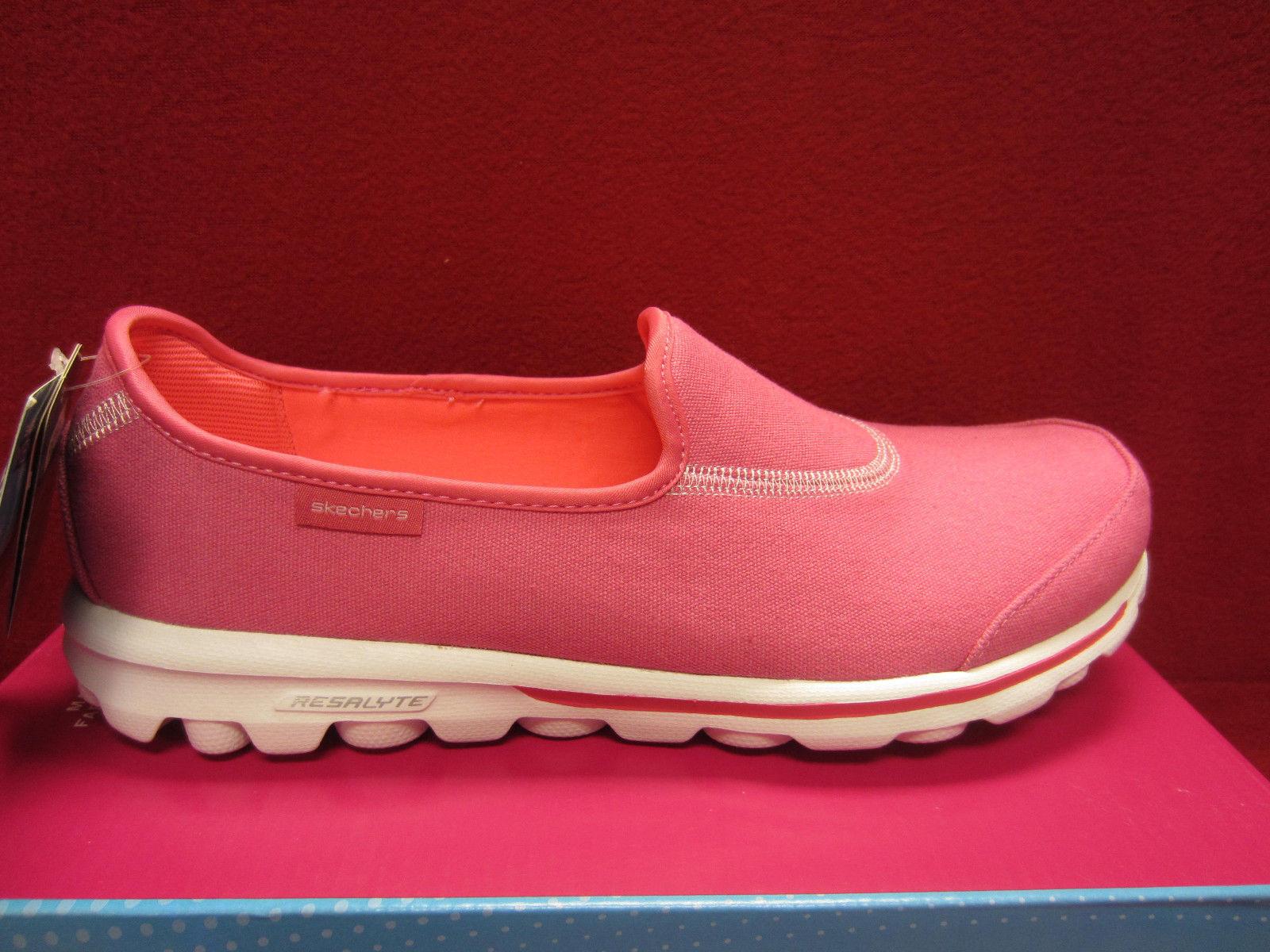 New Skechers GOwalk Extend 13771 HPK, hot Rosa, Größe 7 1 2