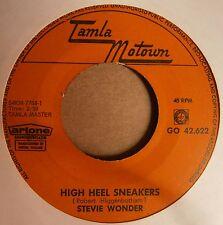 "7"" Stevie Wonder High Heel Sneakers Rare Dutch Holland Motown 1965 Soul Funk"