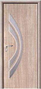 Vetro Satinato Decorato.Dettagli Su Porte Interne Con Vetro Satinato Decorato In Vari Colori Design Moderno