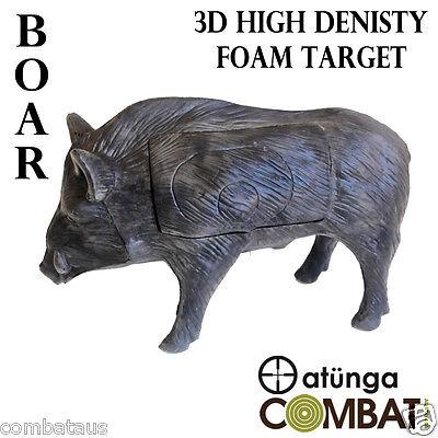 3D PIG / BOAR TARGET HIGH DENSITY SELF HEALING FOAM ARCHERY TARGET HUNTING