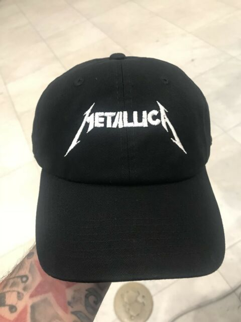 3b9741eb63a1f Metallica Custom Unstructured Baseball Dad Hat Adjustable Cap Band New-Black