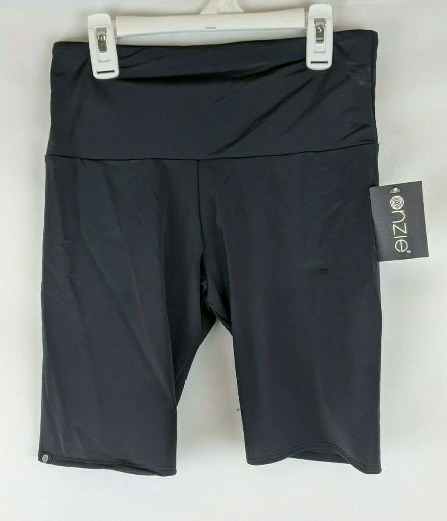Onzie High Rise Bike Shorts, Black, Women's M/L