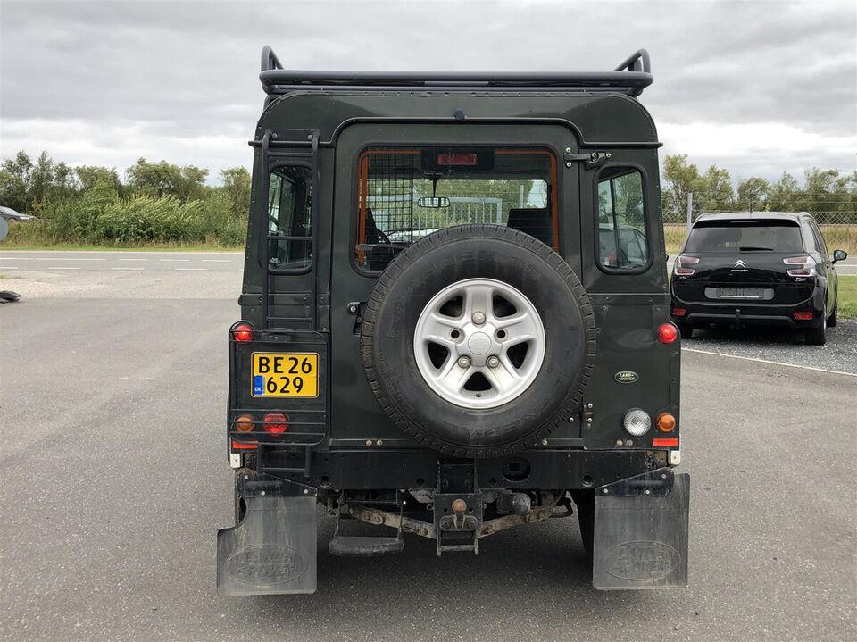 Land Rover Defender 90 2,5 TD5 Hard-Top Diesel modelår 2006