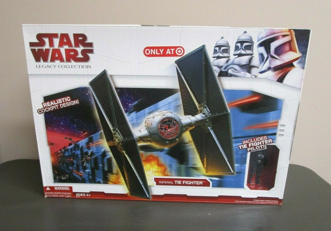 Imperial Tie Fighter 2009 STAR WARS Legacy Collection TARGET Exclusive MIB  4