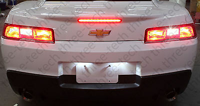 WHITE LED Backup Reverse Lights Bulbs for 14 15 Chevrolet Camaro Chevy CREE