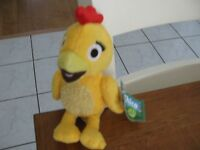 Sprout Yellow Bird Plush 7 Chica Cute