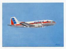 Vintage Cubana de Aviacion Airline Issued Postcard