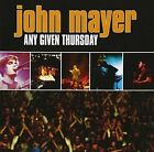 John Mayer Any Given Thursday CD 15 Track 2 Disc Set Still Columbia 200