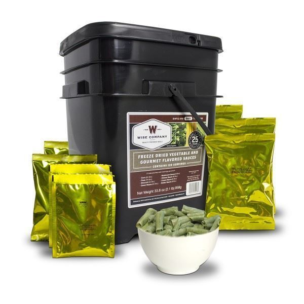 Wise Freeze Dried Vegetable &  Sauces ( Bulk Discounts ) Food Storage  fashion mall