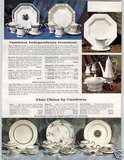 1965 PAPER AD Toy Play Coffee Corona Ware Dinnerware Plates Plastic China Food