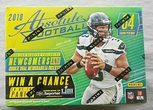 Panini-Absolute-Football-Blaster-2018-Box-NFL-Trading-Cards-1-Auto-or-Memo