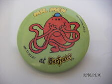 MR TICKLE AT BEEFEATER MR MEN PICTURE BADGE 2