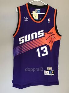 e01c55f0226 NWT Steve Nash  13 NBA Phoenix Suns Swingman Throwback Jersey Men