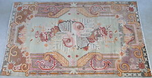 Semi-antique-Khotan-rug-Chinese-Turkestan-ca-1920-30-hand-knotted-wool-5-1x8-6