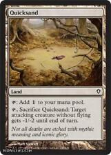 Quicksand NM X4 Worldwake Common Land MTG Magic Cards