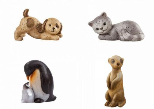 Goebel Nina /& Marco pingüino erizos oveja conejo Gato Perro personaje vomite animales nuevo