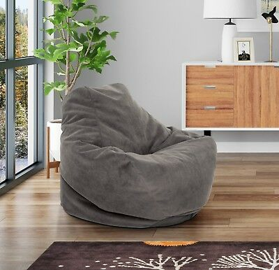 Excellent Bean Bag Chair For Kids Teens Adults Dorm Room Lounge Gaming Chairs Large Comfy 783956453983 Ebay Machost Co Dining Chair Design Ideas Machostcouk