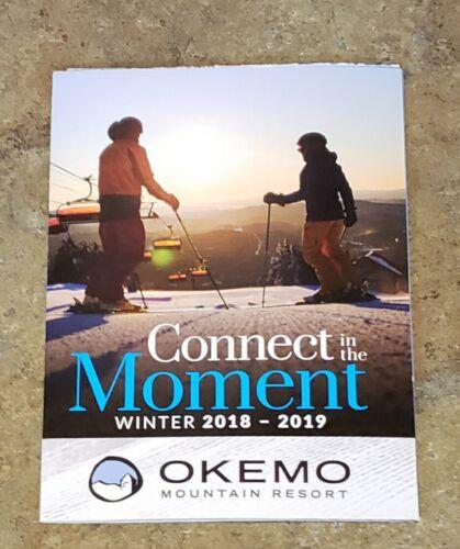 VT SKI AREA TRAIL MAPS 2 - 2018//19 /& 19//20 OKEMO MT. NEVER USED CONDITION