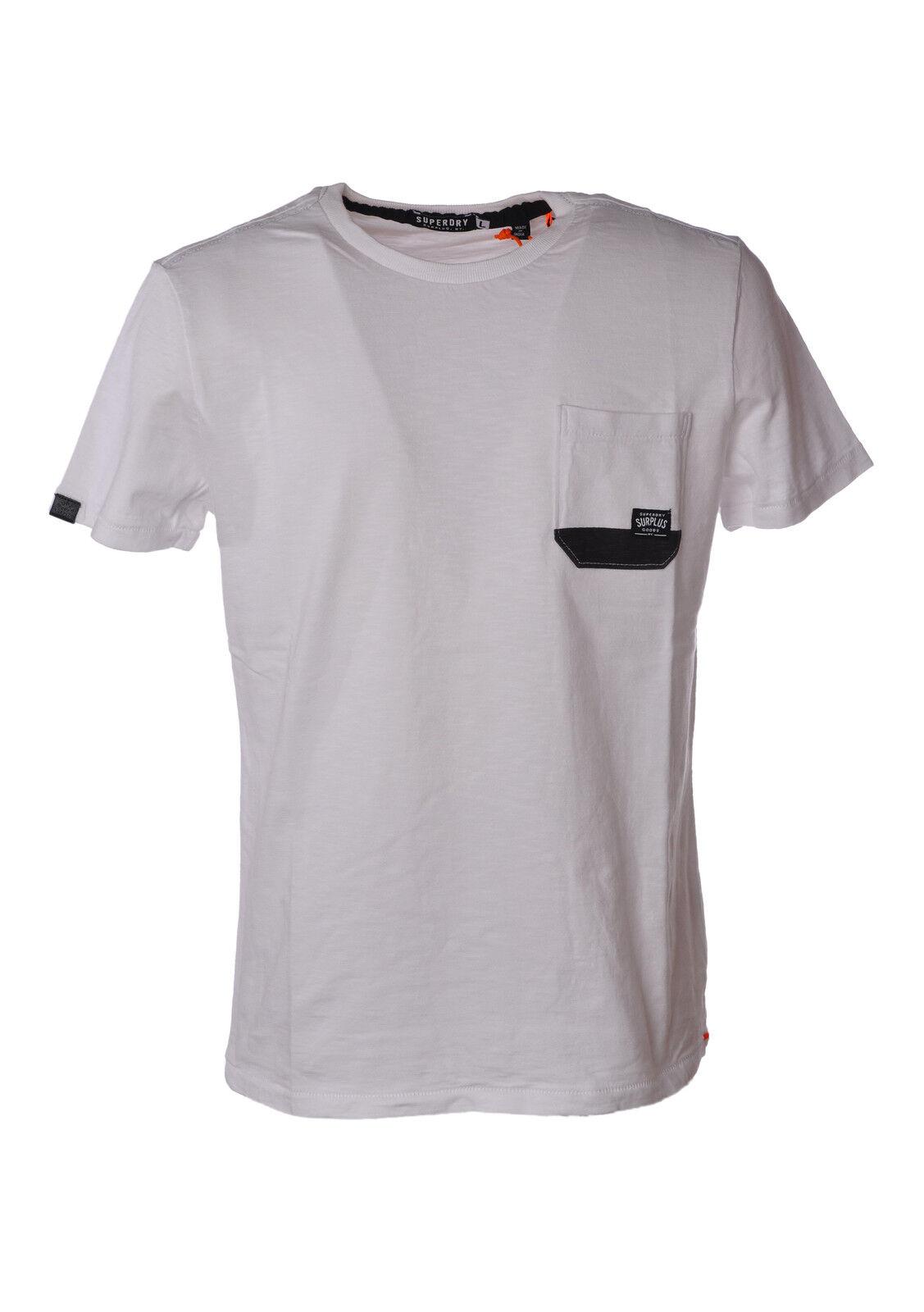 Superdry  -  T - Hombre - Blanco - 3478321A183923