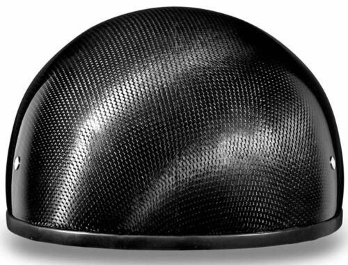 Daytona Skull Cap Carbon Fiber Half Helmet without Visor DOT 2XS-4XL