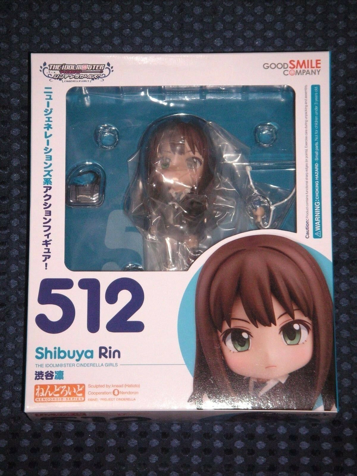 New Good Smile Nendorid Idolmaster Cinderella Girls Shibuya Rin figure Japan FS