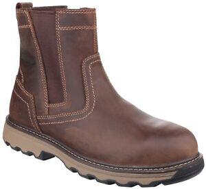 site réputé 2d768 cc8e2 Détails sur Cat Caterpillar Pelton Bottes Sécurité Hommes Industriel  Chaussures Travail