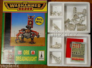 DCO89-DREADNOUGHT-ORK-WARHAMMER-40000-W40K-ONE-ARM-MISSING