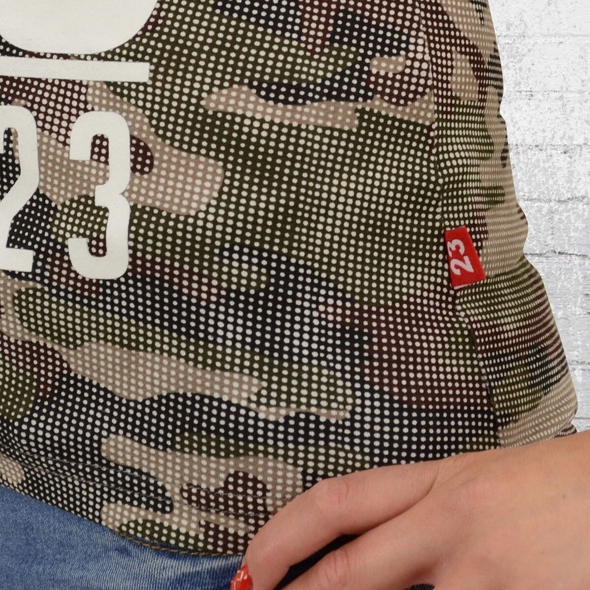 Label 23 Bad Ass Camo Camo Camo Damen T-Shirt camouflage Frauen Tshirt | Zürich  7e0b1d