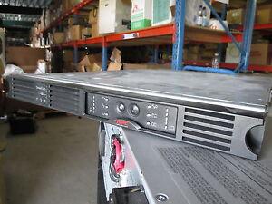 APC SUA750RMI1U Smart-UPS 750VA 480 Watts USB SERIAL RM 1U 230V USV POWER SUPPLY