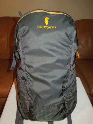 "Cotopaxi ""INCA Sixteen"" Gray Backpack"
