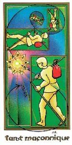 Tarot Maçonnique De Jean Beauchard - 78 Cartes & Livret (masonic Deck)