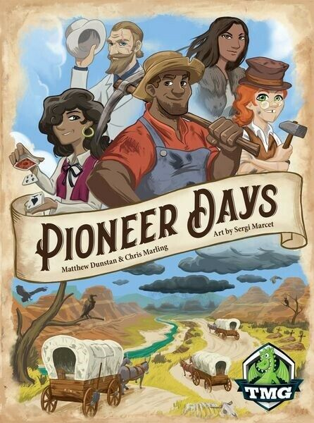 Pioneer  DAYS tavola gioco da gustosi Minstral giocos NUOVO CON SCATOLA  nuovo stile