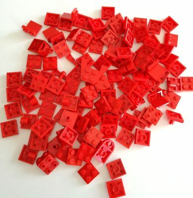 Lego 100x Piastre 2x2 Rosso Lotto Plate Set Kg Sped Gratis Su + Acquisti Alleviare Reumatismi E Freddo